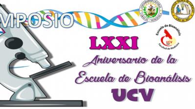 Simposio LXXI aniversario Escuela de Bioanalisis UCV